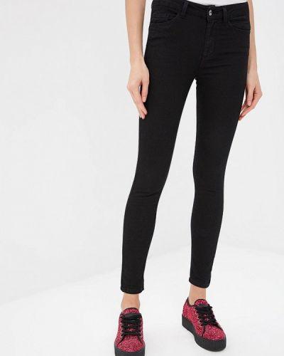 Черные джинсы-скинни Liu Jo