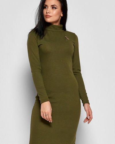 Вязаное платье осеннее трикотажное Karree