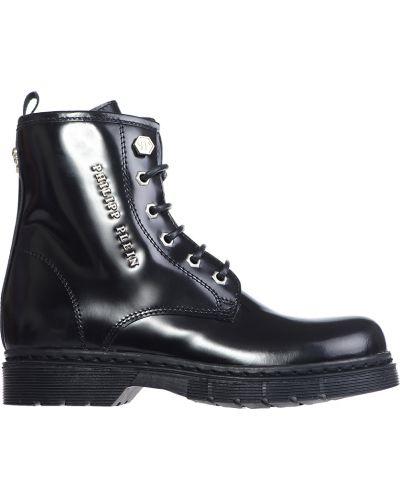Черные ботинки Philipp Plein