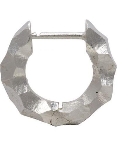 Kolczyki srebro ze srebra z logo All Blues