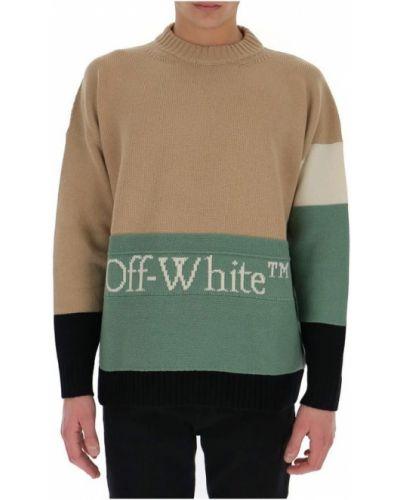 Biały sweter Off-white