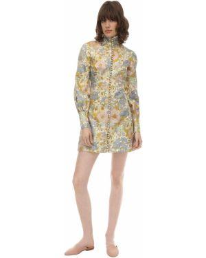 Платье мини макси с завышенной талией Zimmermann