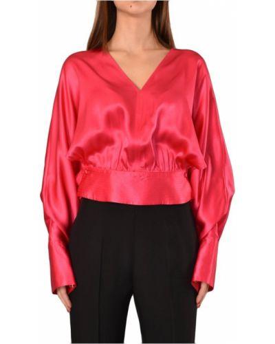 Bluzka z dekoltem w serek vintage Simona Corsellini