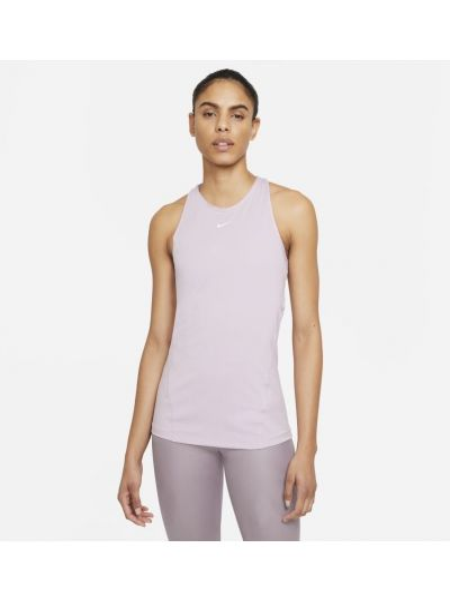 Fioletowy t-shirt bez rękawów Nike