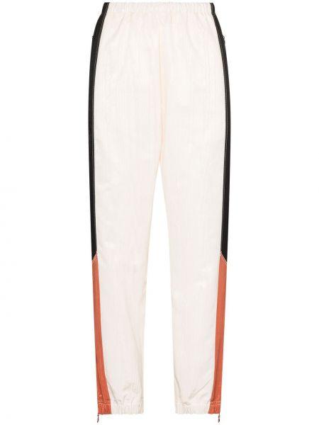 Спортивные брюки из полиэстера - белые Marine Serre
