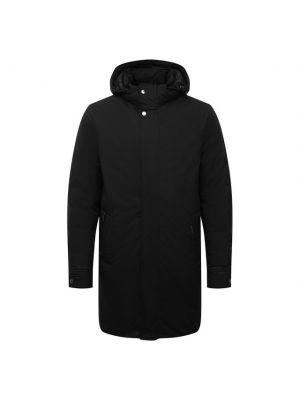 Черная куртка мембранная Moorer