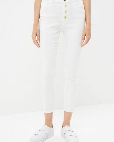 Белые джинсы-скинни Jennyfer