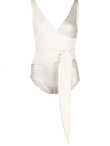 Strój kąpielowy na szyi z dekoltem w szpic Lisa Marie Fernandez