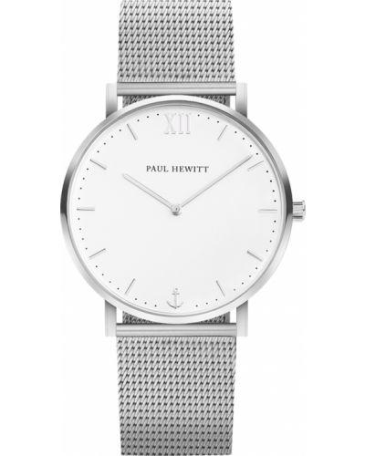 Часы водонепроницаемые белые немецкий Paul Hewitt