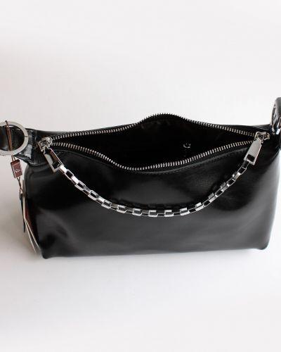 Кожаная сумка - черная Tomfrie