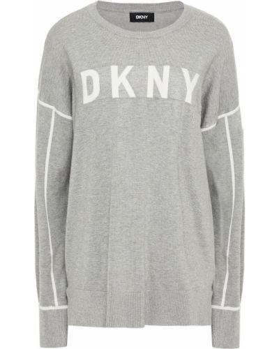 Серая свитер из вискозы Dkny