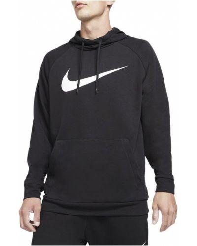 Czarny sweter bez rękawów Nike