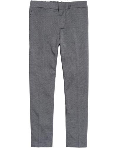 Серые брюки H&m