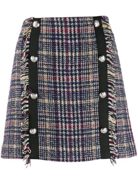 Юбка мини юбка-колокол на пуговицах Veronica Beard