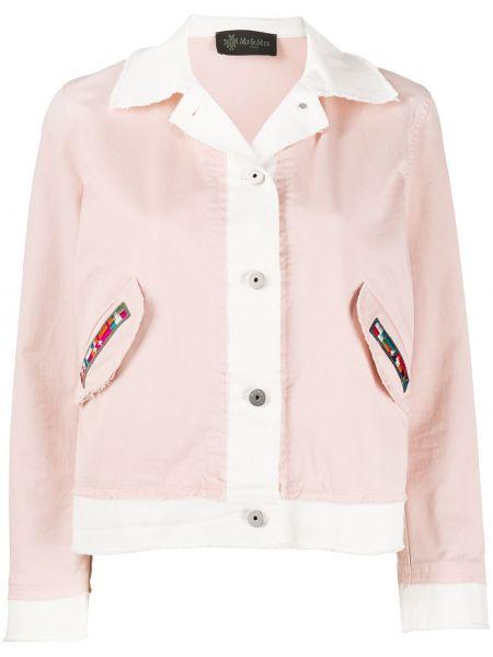 Длинная куртка - розовая Mr & Mrs Italy