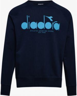 Черная свитшот Diadora