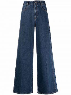 Синие хлопковые джинсы Stella Mccartney