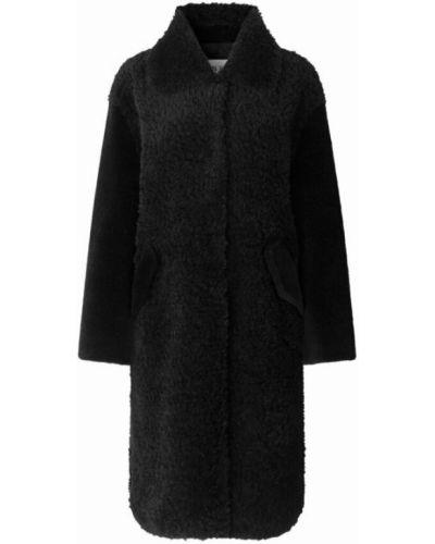 Czarny płaszcz Ravn