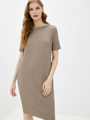 Повседневное бежевое платье Helmidge