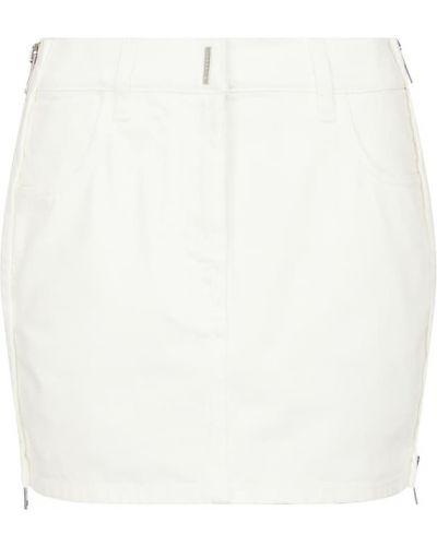 Niebieska spódnica jeansowa bawełniana Givenchy