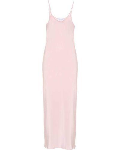 Розовое платье мини Ryan Roche