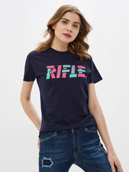 Синяя футбольная футболка Rifle