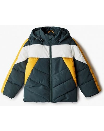 Зеленая теплая куртка Name It