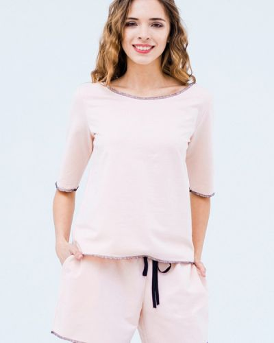 Повседневное платье весеннее розовое Mascot