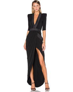 Czarna sukienka wieczorowa Zhivago