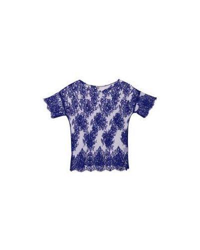 Блузка вечерняя синяя P.a.r.o.s.h.