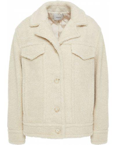 Текстильная серая куртка с карманами Vince
