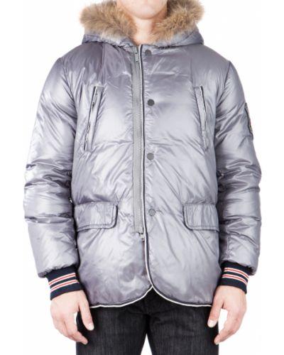 Куртка осенняя серебряного цвета Iceberg