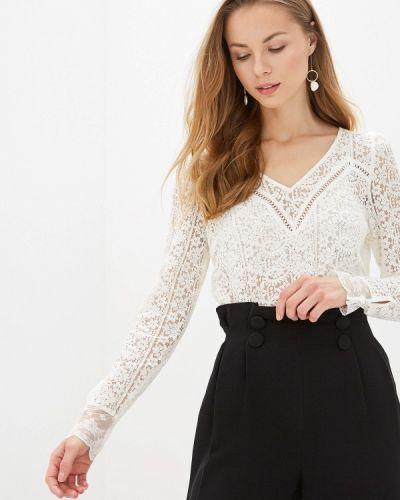 Блузка кружевная белая Naf Naf