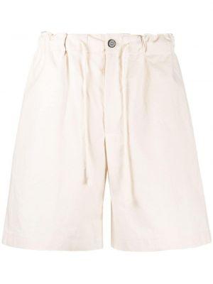 Beżowe szorty bawełniane Jil Sander