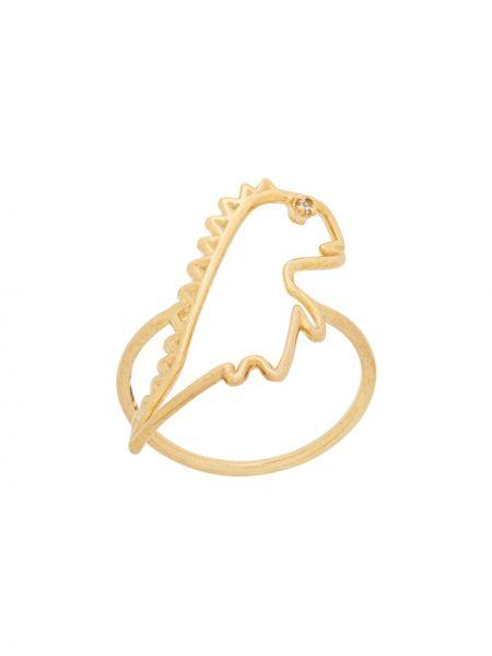 Pierścień ze złota Aliita