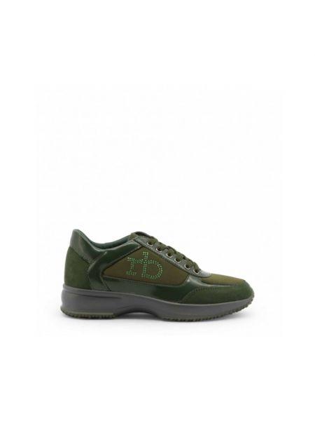Zielone sneakersy Roccobarocco