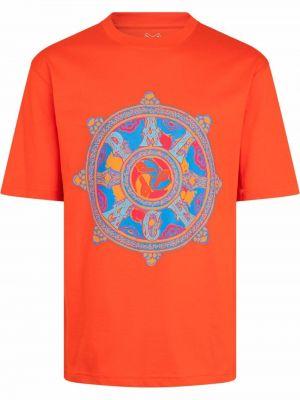 Хлопковая футболка - красная Palace