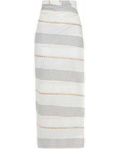 Biały pareo bawełniany Vix Paula Hermanny