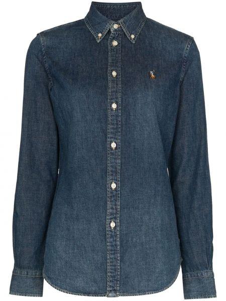 Koszula jeansowa niebieski Polo Ralph Lauren
