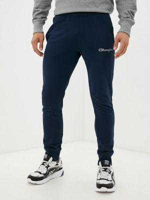 Синие зимние спортивные брюки Champion