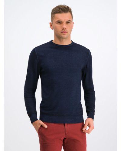 Sweter granatowy Digel