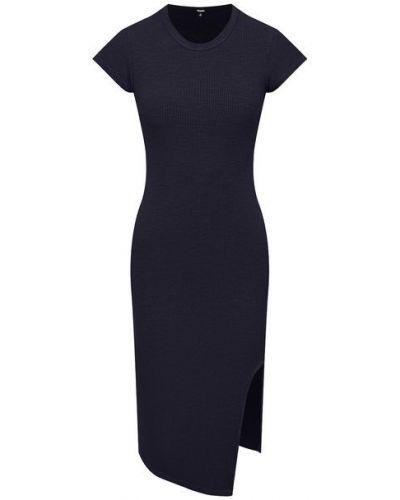 Платье из вискозы - черное Monrow