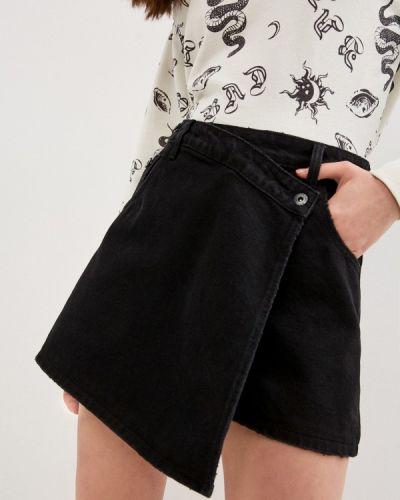 Черные джинсовые шорты Befree
