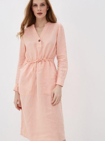 Коралловое платье Marks & Spencer