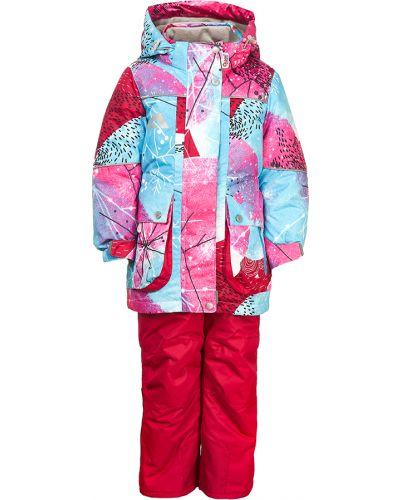 Спортивный костюм розовый свободного кроя Oldos Active