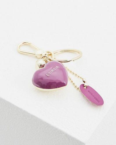 Фиолетовый брелок Furla