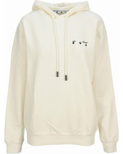 Bluza z kapturem - biała Off-white