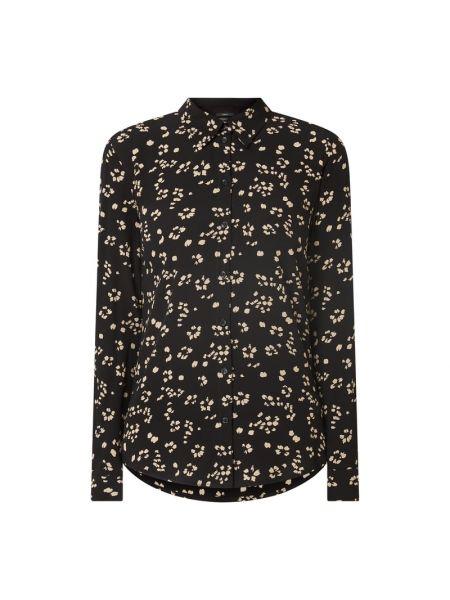 Bluzka z wiskozy - czarna Set