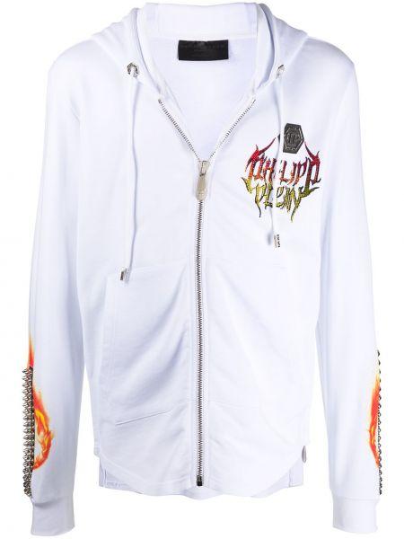 Bluza z kapturem z kapturem długo Philipp Plein