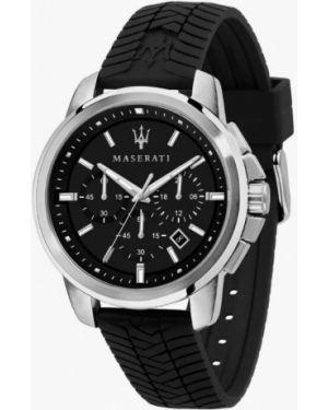 Черные часы Maserati